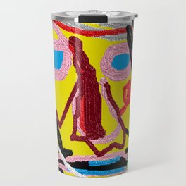 Portrait of Gerald No. 6 Travel Mug