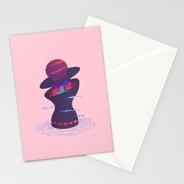 Planet Lady Stationery Cards