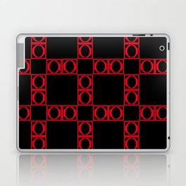 angle red & black 2 Laptop & iPad Skin