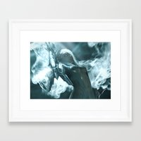 soul eater Framed Art Prints featuring Aoelia the Soul Eater by Jiyu-Kaze™