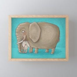 trunk nest Framed Mini Art Print