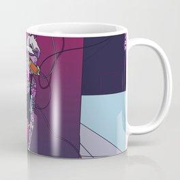 Princess Cyberspace dj model cyberpunk 80s Coffee Mug