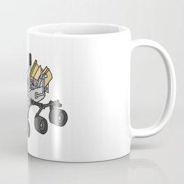 Curiosity, the Marsrover Coffee Mug