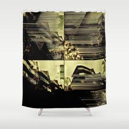 Urbania city 6 Shower Curtain