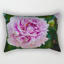 Summer Peony Rectangular Pillow
