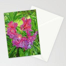 Pink Rhodo Stationery Cards