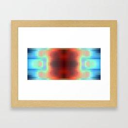 Gradient Shift Framed Art Print