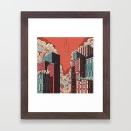 Dream - Free Fall Framed Art Print