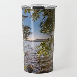 Secret Place By The Lake Travel Mug