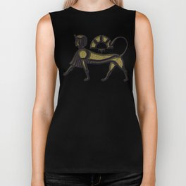 Sphinx - mythical creature of ancient Egypt Biker Tank