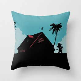 Kame House Throw Pillow