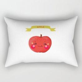 Apple. Kawai Rectangular Pillow
