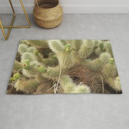 Bird's Nest in Teddy Bear Cholla, #1 Rug