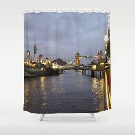 Belfast & Bridge Shower Curtain