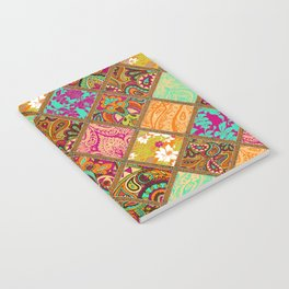 Patchwork Paisley Notebook