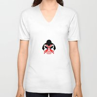 honda V-neck T-shirts featuring Delightful E Honda by Phillip Gessert