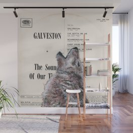 His Master's Voice - The Wolf Wall Mural