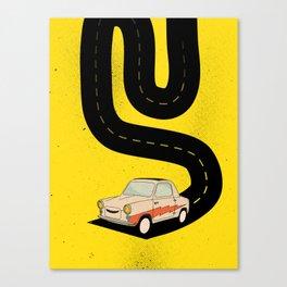 Road Hog Canvas Print