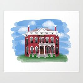 City Hall - Warren Ohio 100 Art Print