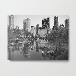 Meet you at the Oak Room - N.Y.C. Metal Print