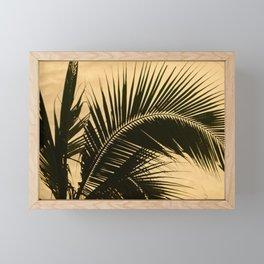 Silhouette Framed Mini Art Print
