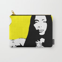 Erykah Stencil Carry-All Pouch
