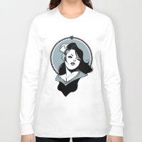 sailor Long Sleeve T-shirts featuring Sailor by Tintanaveia