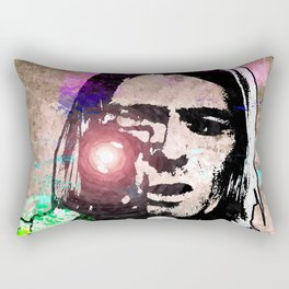 K. Cobain Grunge Rectangular Pillow