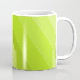 Green Gradient to Light Coffee Mug