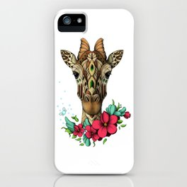 Mystic Giraffe iPhone Case