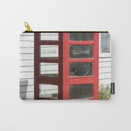 Old Telephone box Carry-All Pouch