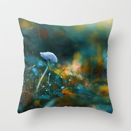 Falling to the Flames Throw Pillow