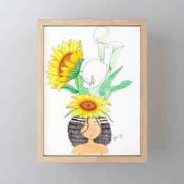 Bloom 2 Framed Mini Art Print