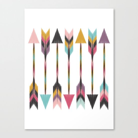 Bohemian Arrows Canvas Print