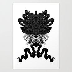 Bride of Cthulhu Art Print
