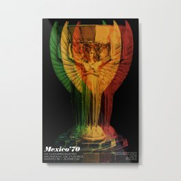 World Cup: Mexico 1970 Metal Print