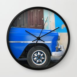 Habana Blue Wall Clock