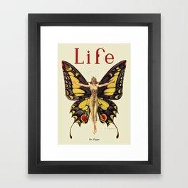 The Flapper by F.X. Leyendecker - Life Magazine Cover Art Print Framed Art Print