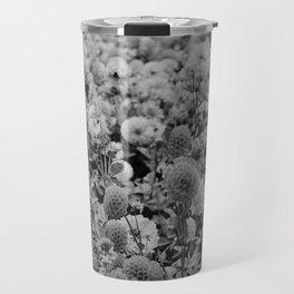 The Garden (Black and White) Travel Mug