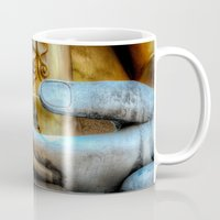 meditation Mugs featuring Meditation  by Adrian Evans