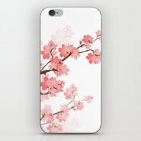 cherry iPhone & iPod Skins featuring Cherry by Ale Ibanez
