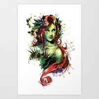 poison ivy Art Prints featuring Poison Ivy by Vincent Vernacatola