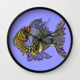Rainbow Fish Wall Clock
