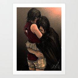 You with the sad eyes Art Print