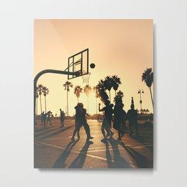 hoops Metal Print