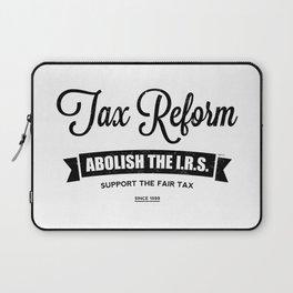 Abolish The I.R.S. Laptop Sleeve