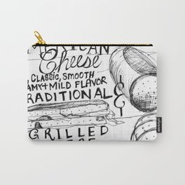 American Cheese Sandwich Carry-All Pouch