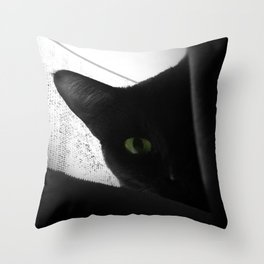 Loko's Dark Intentions: Secretly Plotting Your Demise Throw Pillow