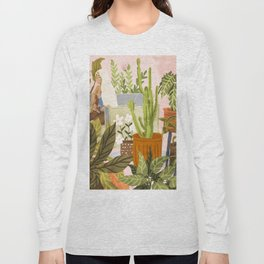 Playing For My Plants Long Sleeve T-shirt