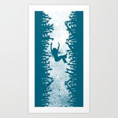 Labyrinth: Helping Hands Art Print